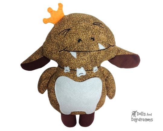 tooth-goblin Sewing Pattern